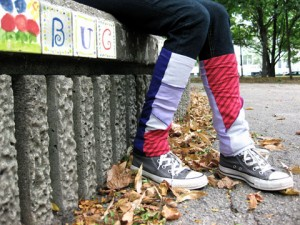Bug Me! Leg-warmers