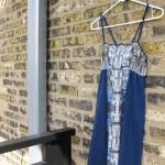 Restless - Dress (s) Organic Cotton + Re-Purposed Fabric/Custom Artist Series by paranoidgirl, The Artwork of Kelly D. Pelka